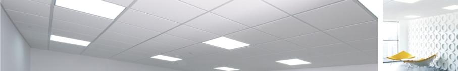 Panele LED natynkowe