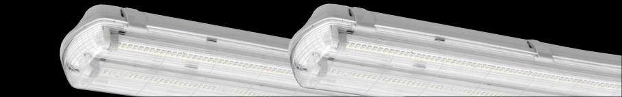 Oprawy świetlówki LED