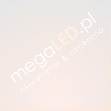 Oczko LED Inox srebrne 8W 640lm Ciepła 100mm Kwadratowe Uchylne kąt 60°