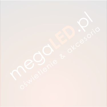 Oczko LED 7W 525lm Ciepła 90mm Kwadratowe Uchylne